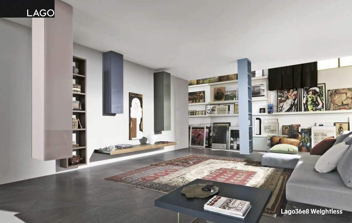 Nuevo catálogo Living 2012 de muebles de diseño de Lago en Espacio Betty