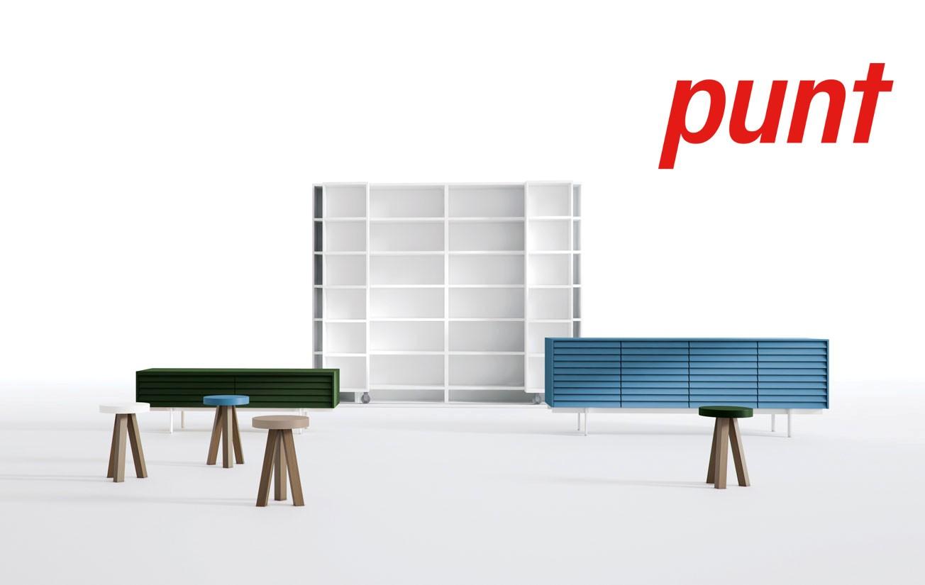 New Punt: nueva imagen y nuevos productos del fabricante de muebles de diseño Puntmobles