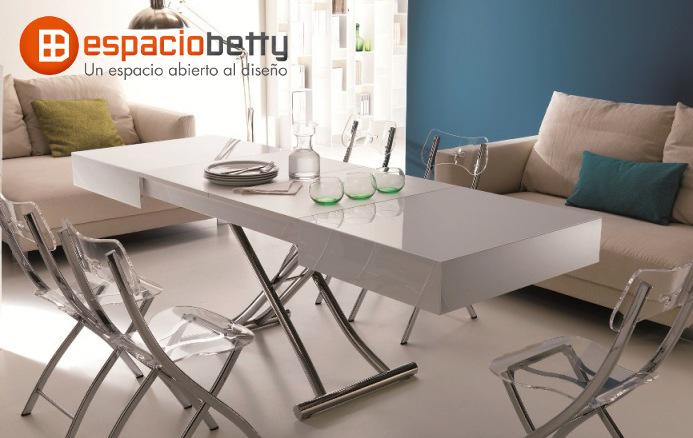 Conoce las mesas elevables y extensibles de Ozzio en Espacio Betty