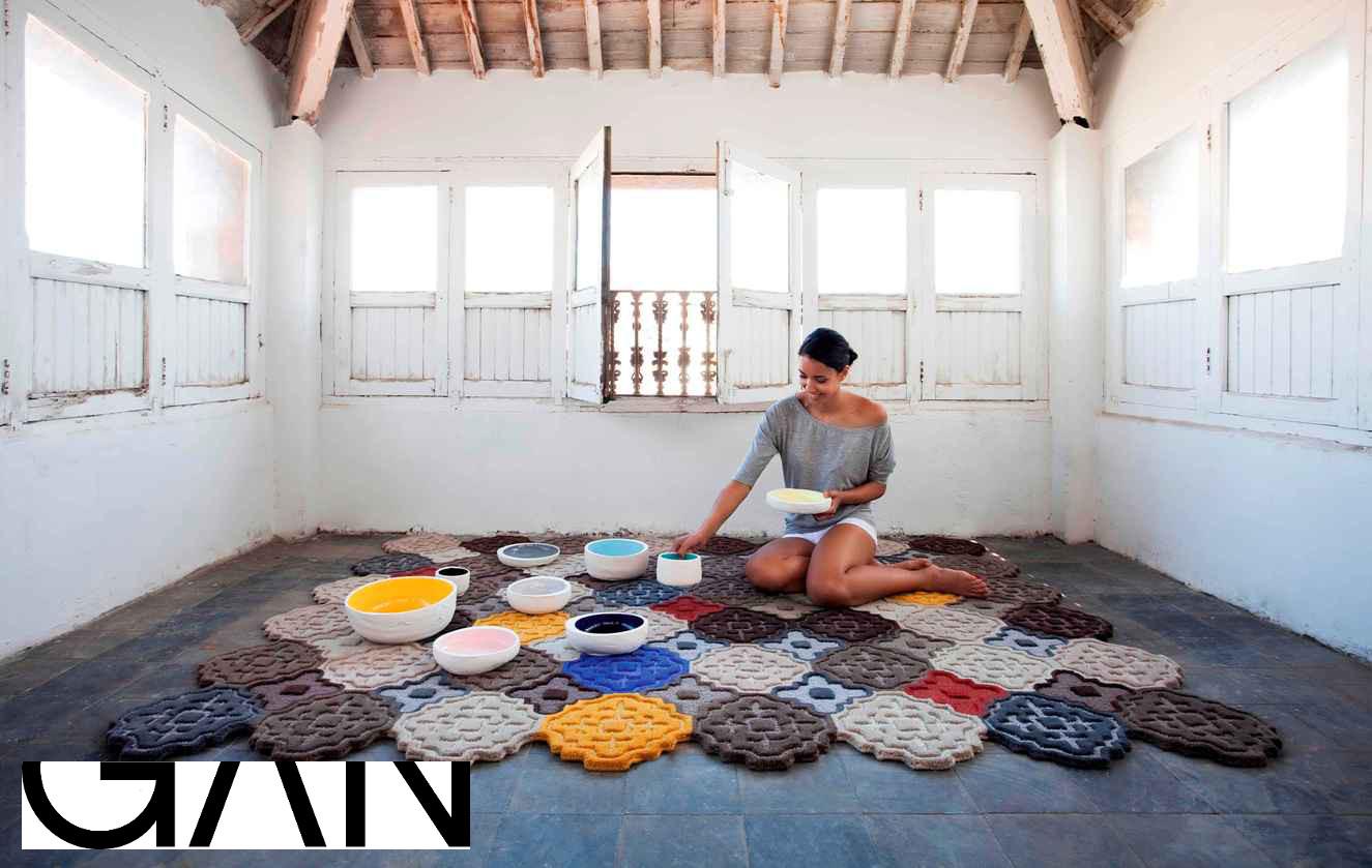 Nueva colección Hidra de alfombras de diseño para Espacio Betty