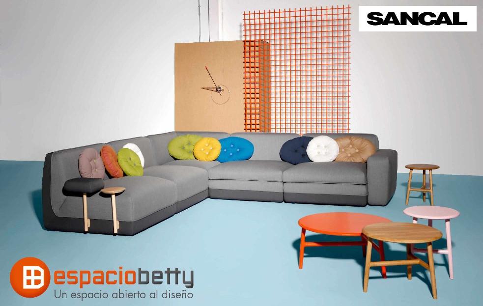 Nuevas colecciones de sofás de diseño de Sancal
