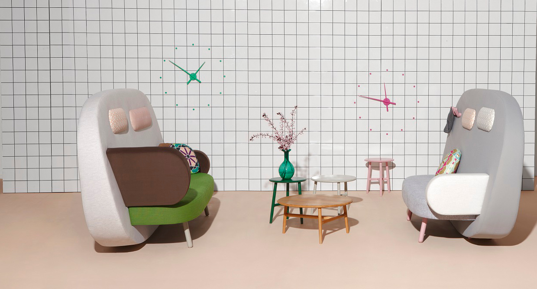 Salas de espera modernas y de dise o en madrid for Muebles sala de espera