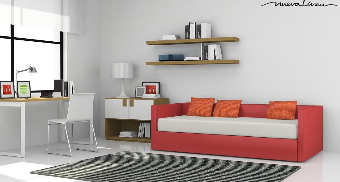 C talogo atm sfera de nueva l nea en espacio betty for Sofa cama para habitacion juvenil