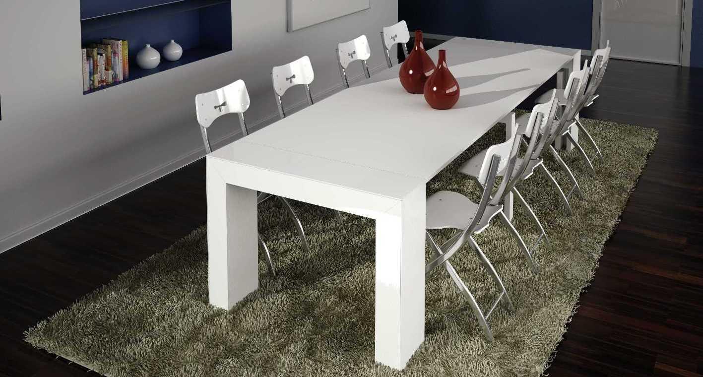 Mesas elevables y transformables modernas y de dise o for Mesas de comedor altas