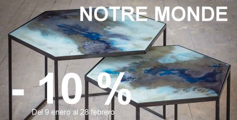 Mesas de diseño Notre Monde