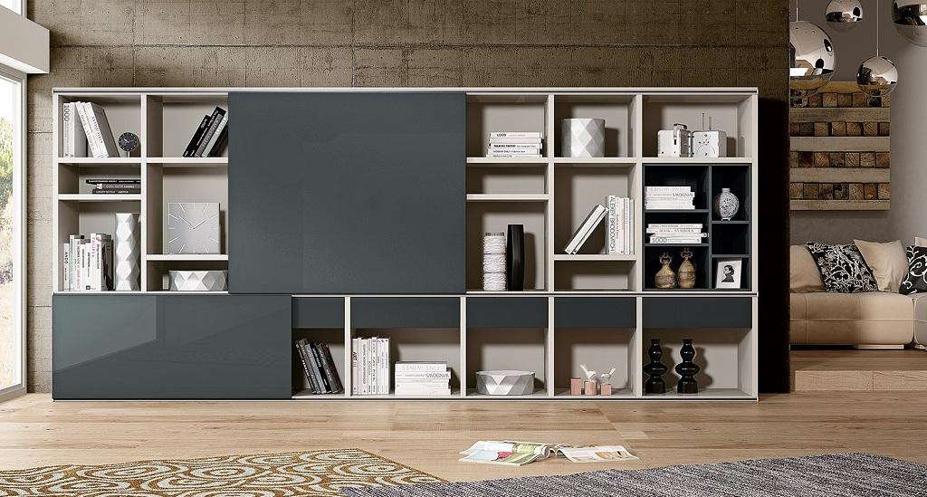 Librerias a medida system espaciobetty madrid - Mueble libreria a medida ...