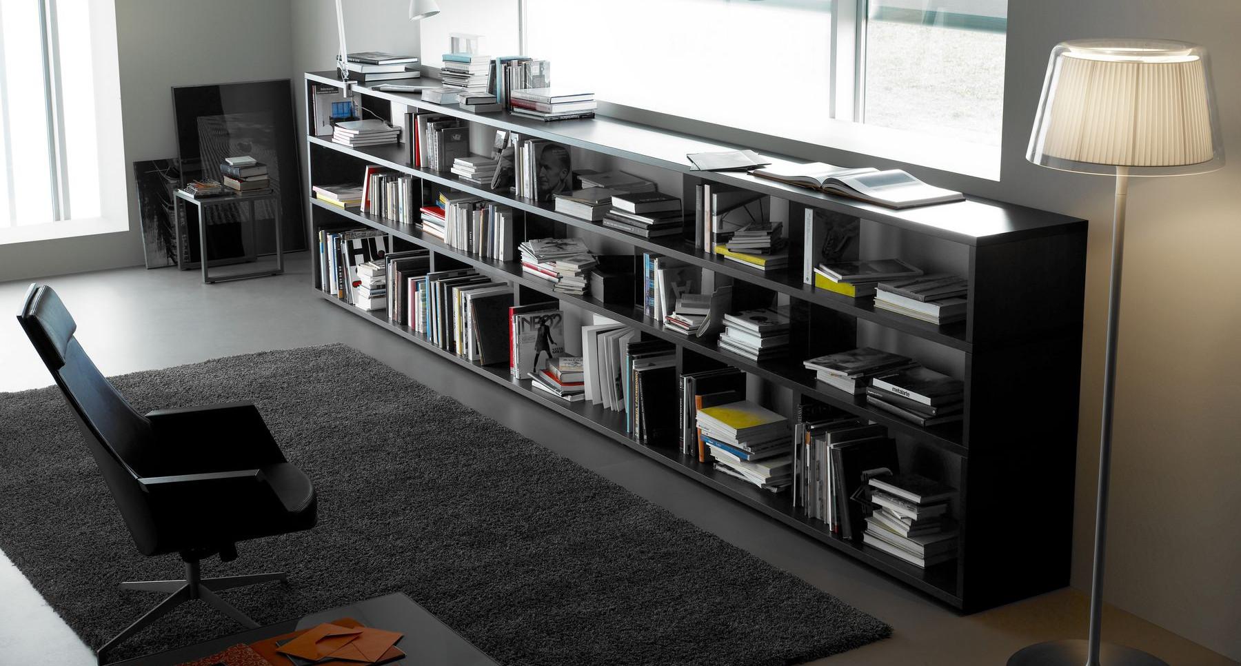 Librerias a medida system espaciobetty madrid - Librerias salon modernas ...