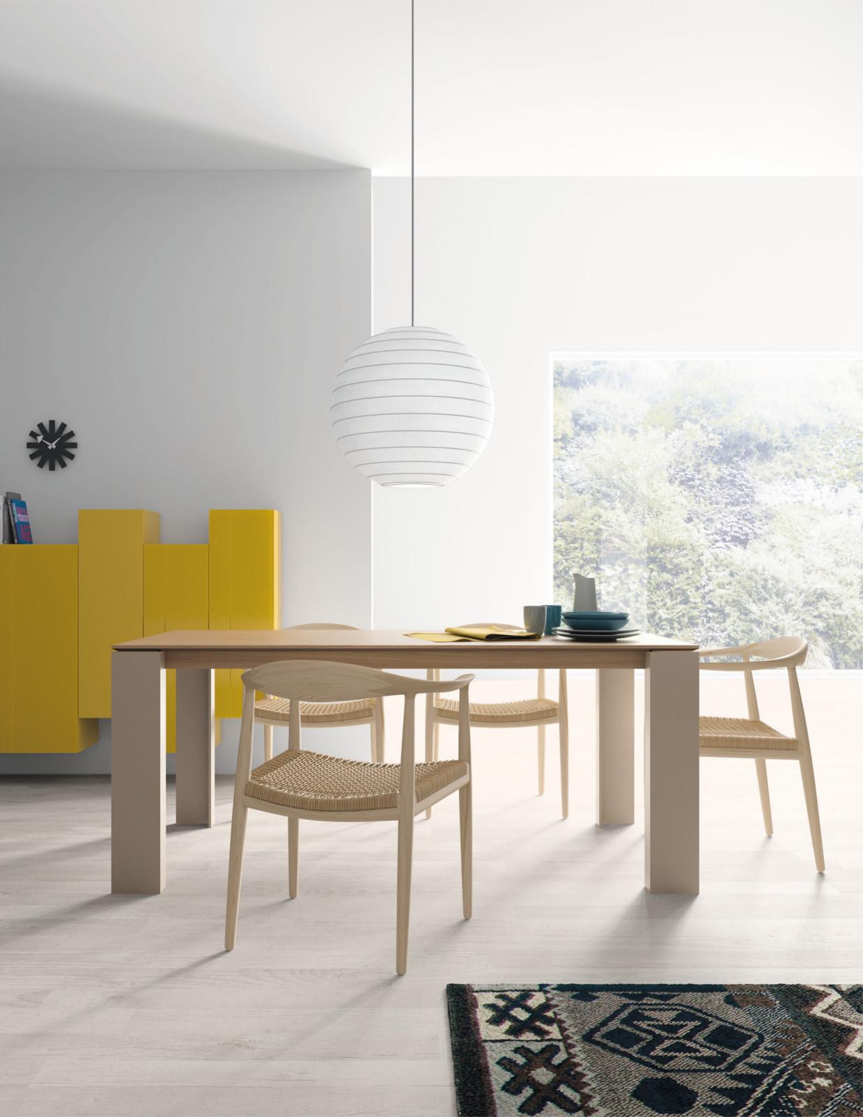 Colecci n de mesas tavole de vive de estilo n rdico - Mesa extensible diseno ...