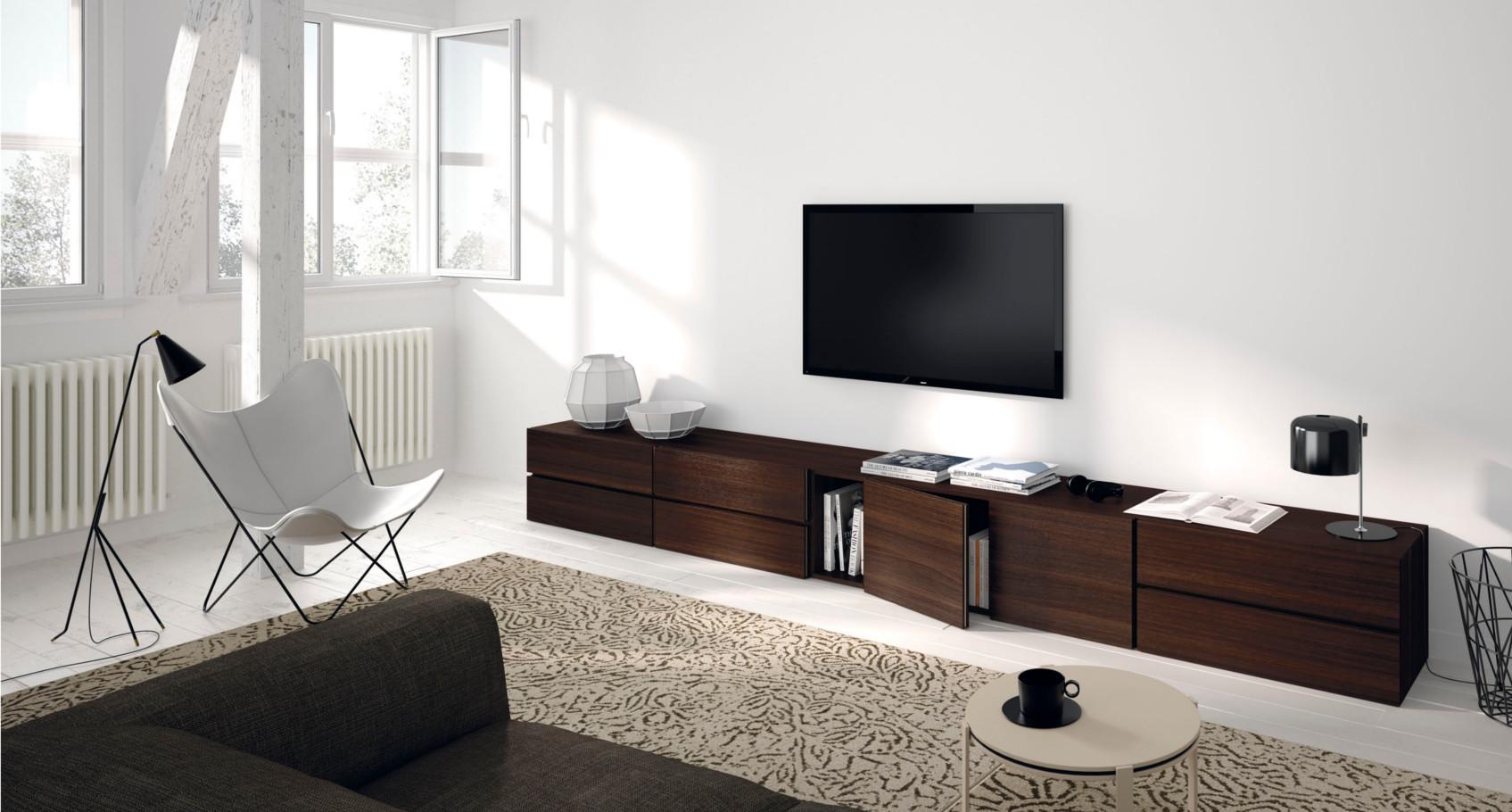 Nueva Colecci N Lunch Vive Muebles De Estilo N Rdico  # Muebles Suspendidos Para Tv